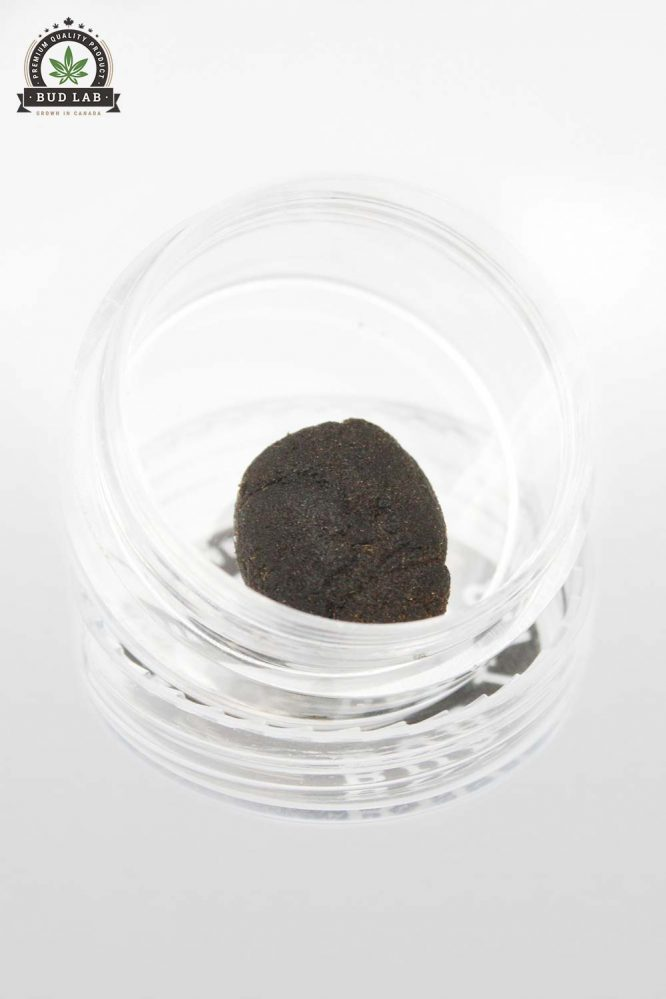 Bud Lab Bubble Hash 1G Open View