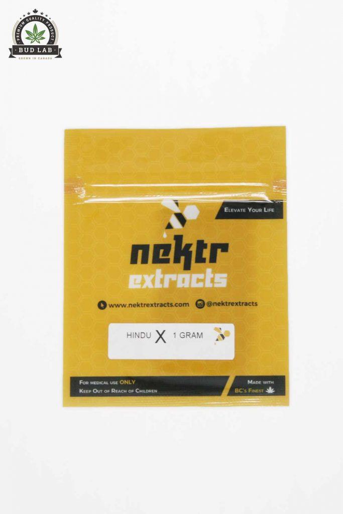 BudLab Nektr Extracts Hindu Kush Shatter, Package View