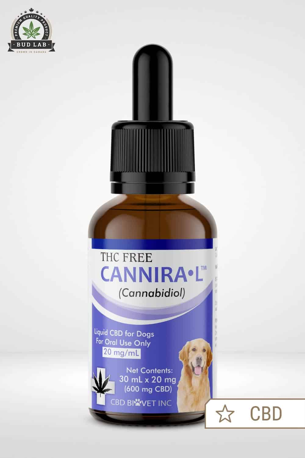 Canniral CBD Dropper For Dogs, product image
