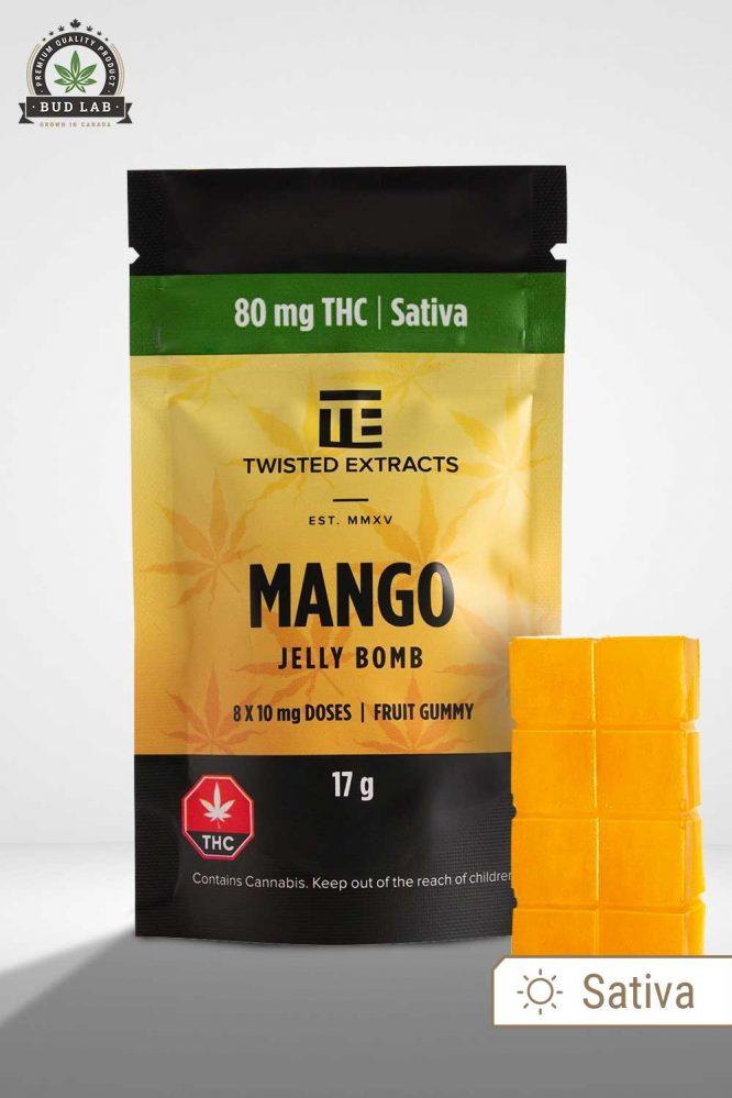 Twisted Extracts Sativa Mango Jelly Bomb