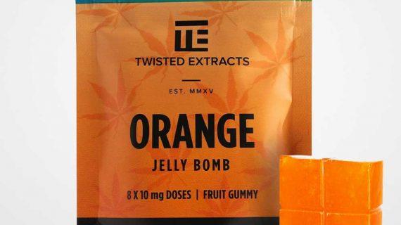 Twisted Extracts Sativa Orange Jelly Bomb CBD