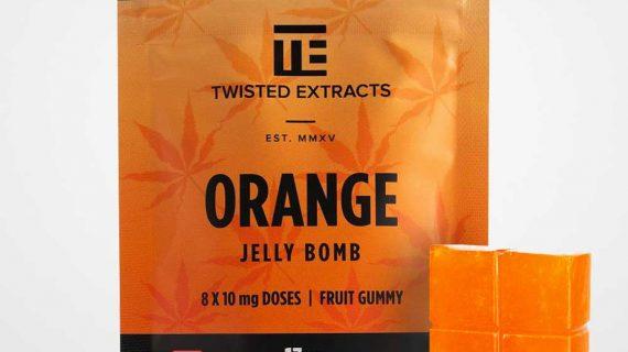 Twisted Extracts Sativa Orange Jelly Bomb