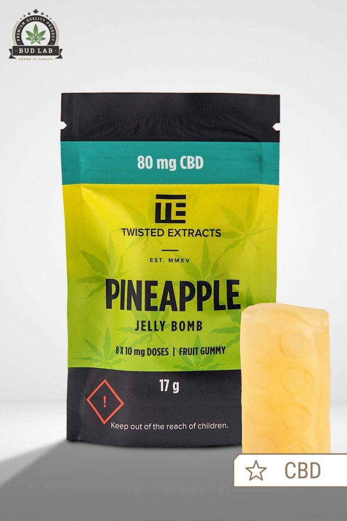 Pineapple Jelly Bomb Twisted Extracts, front view