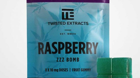 Twisted Extracts Indica Raspberry Jelly Bomb