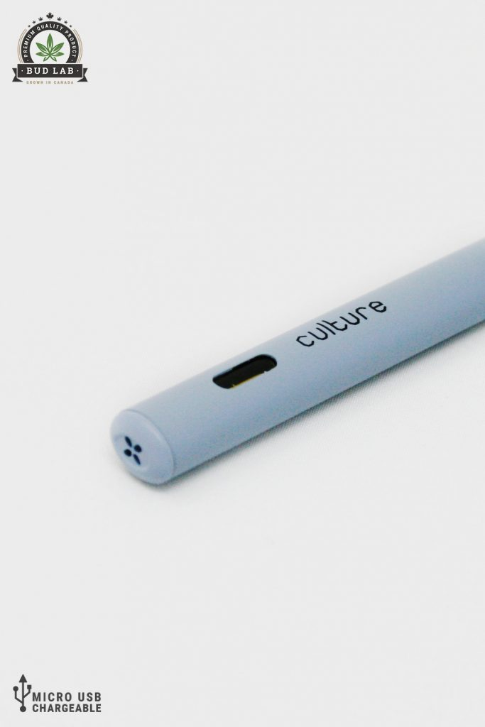 BudLab Culture Vape Indica, Side View