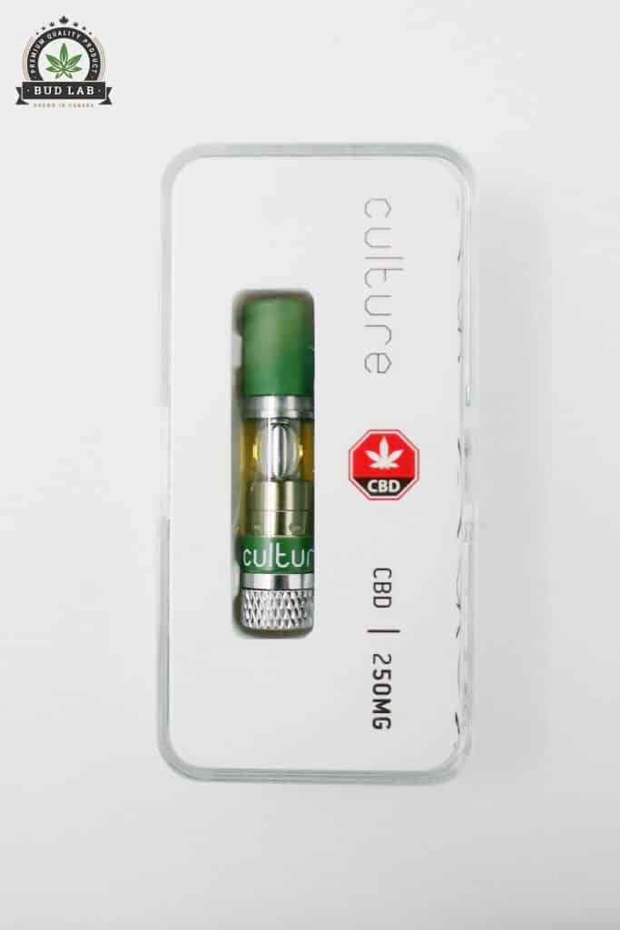 BudLab Culture CBD Refill, In Package