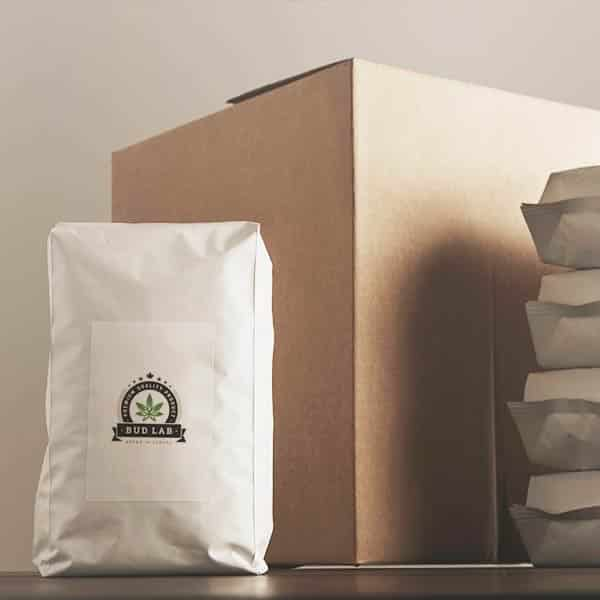 Bud Lab Packaging with box and bundles