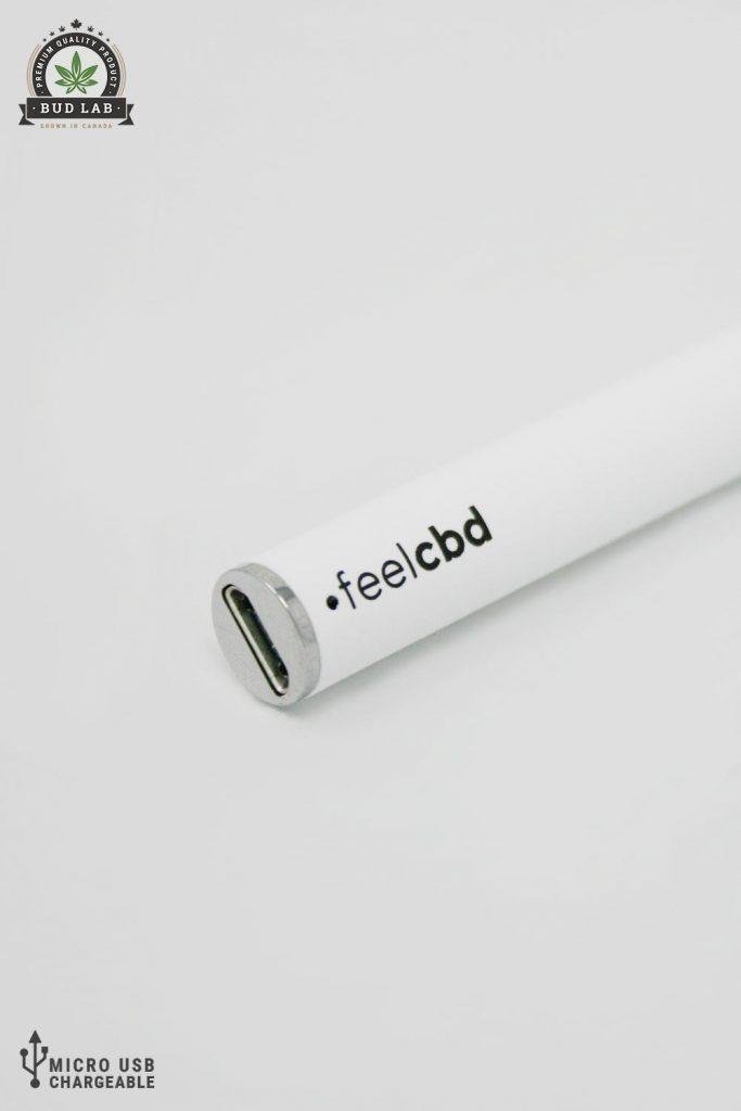 BudLab FeelCBD Sleep Spearmint, Close Up