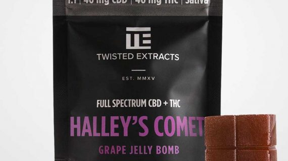 Twisted Extracts Halley's Comet Grape Jelly CBD THC