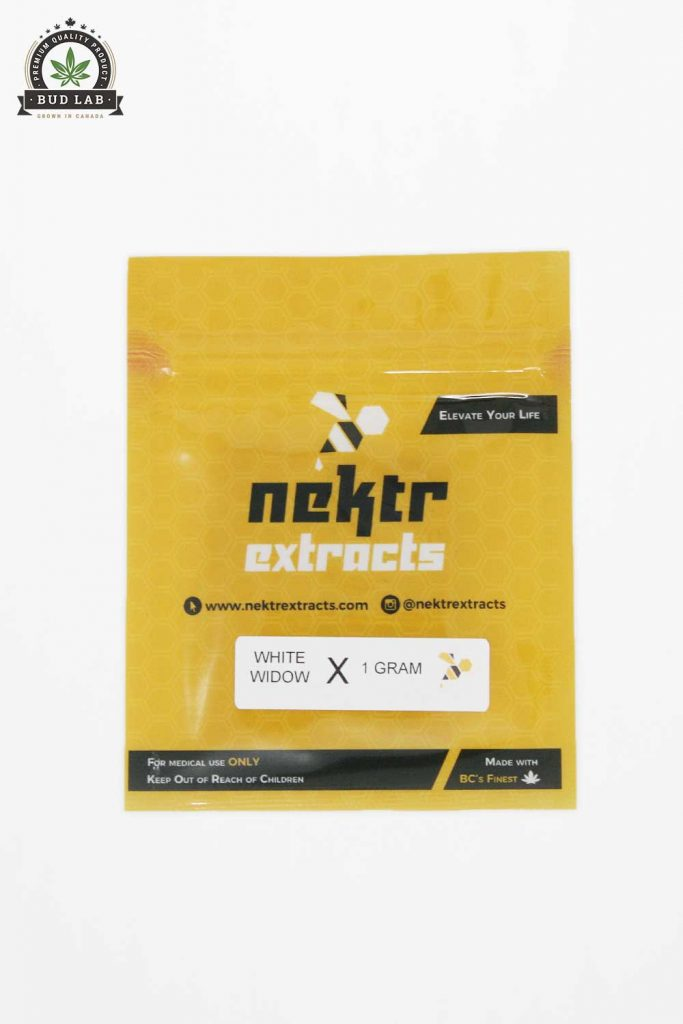 BudLab White Widow Nektr Extracts, Front Package
