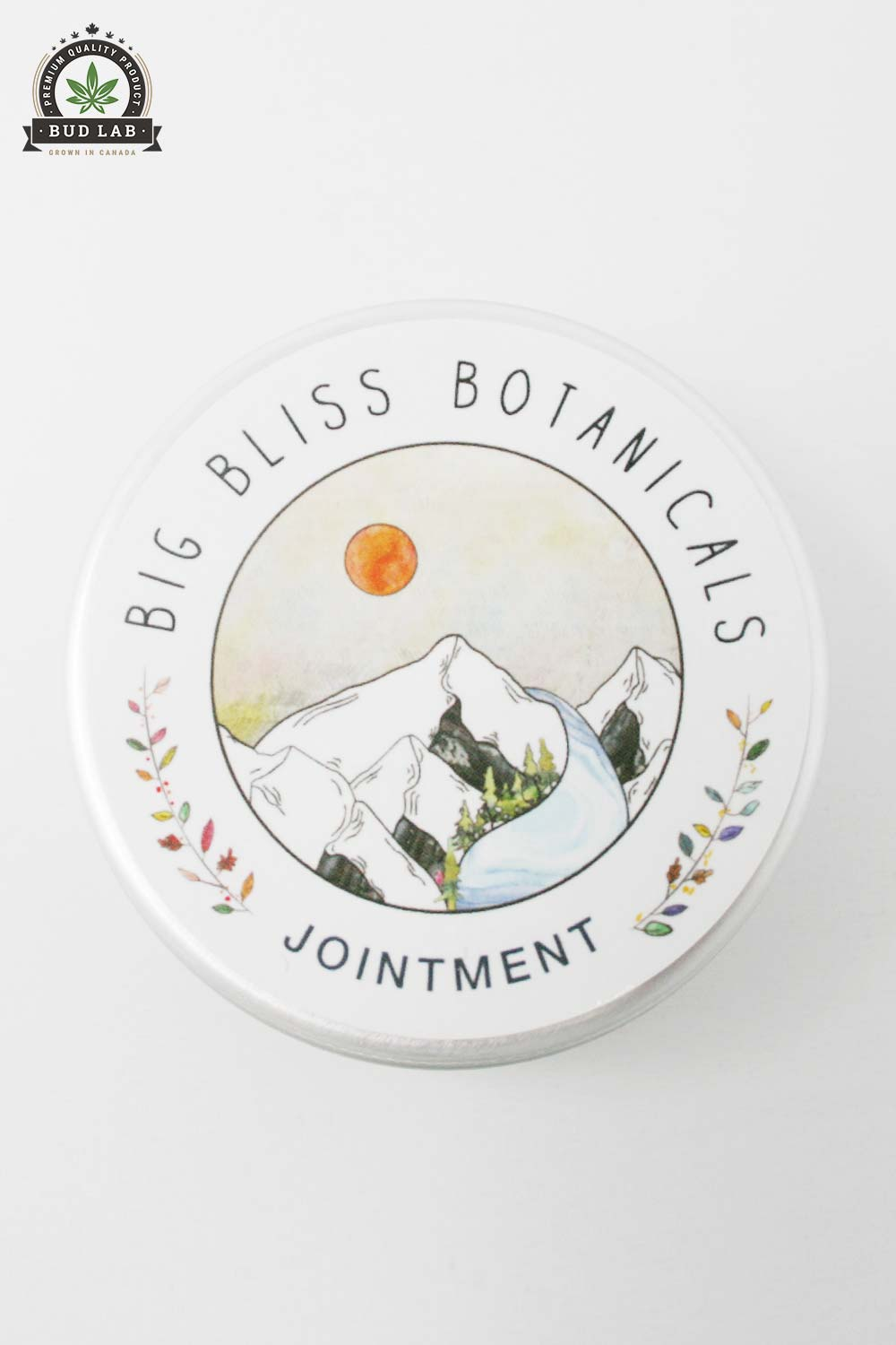 Bud Lab Bug Bliss Jointment, Product With Lid On