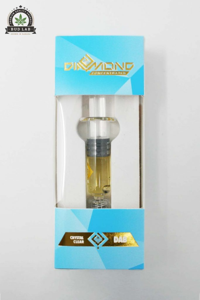 Bud Lab Diamond Concentrates Blue Berry Dab Hybrid, Product Package