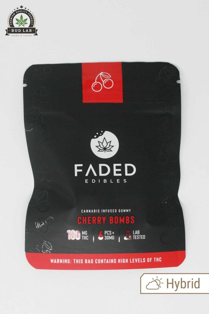 Faded Edibles Cherry Bombs Hybrid