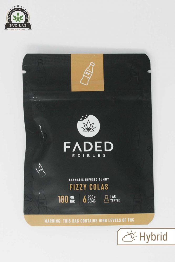 Faded Edibles Fizzy Colas Hybrid