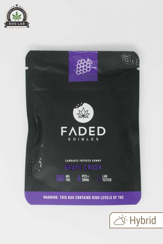 Faded Edibles Grape Crush Hybrid