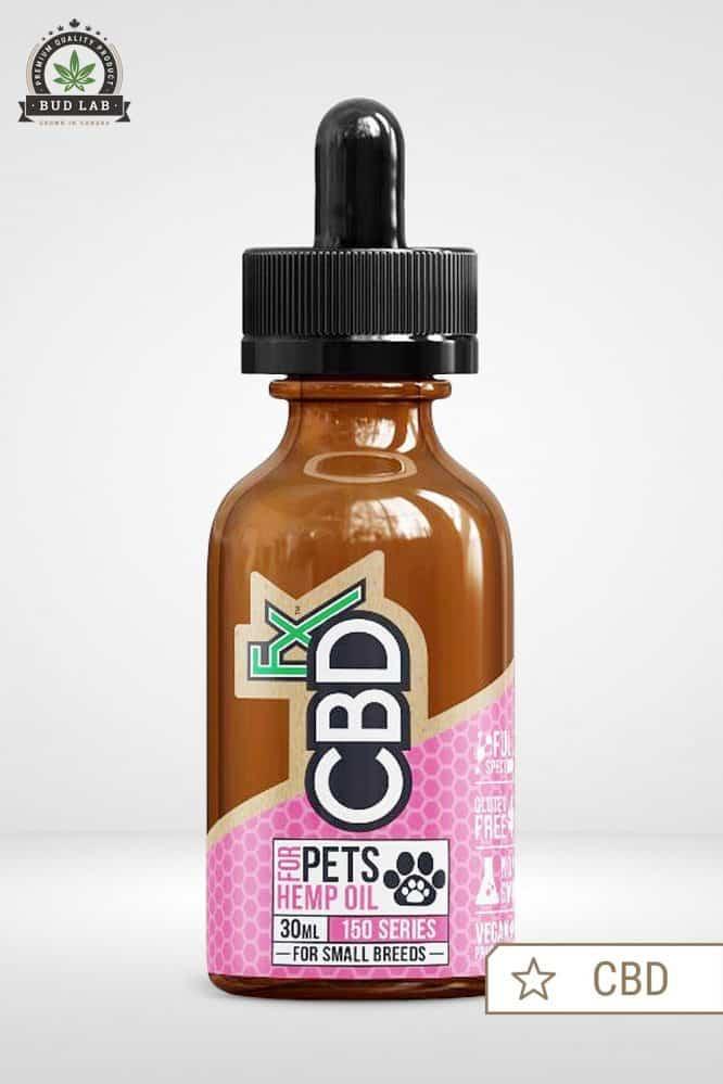 Bud Lab CBDfx CBD Oil for Pets, Small Breeds