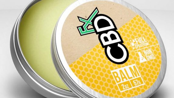 Bud Lab CBDfx Topical Balm, Front of Container