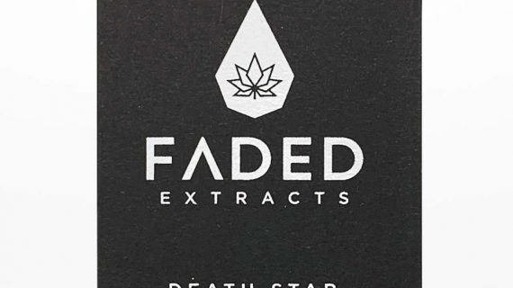 Faded Extracts - Death Star Front of Package
