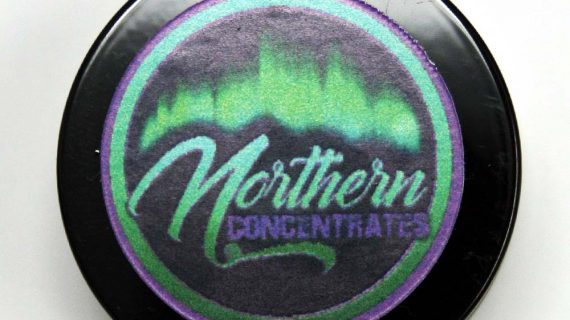 Bud Lab Northern Concentrates Death Bubba Rosin Product Lid Closed