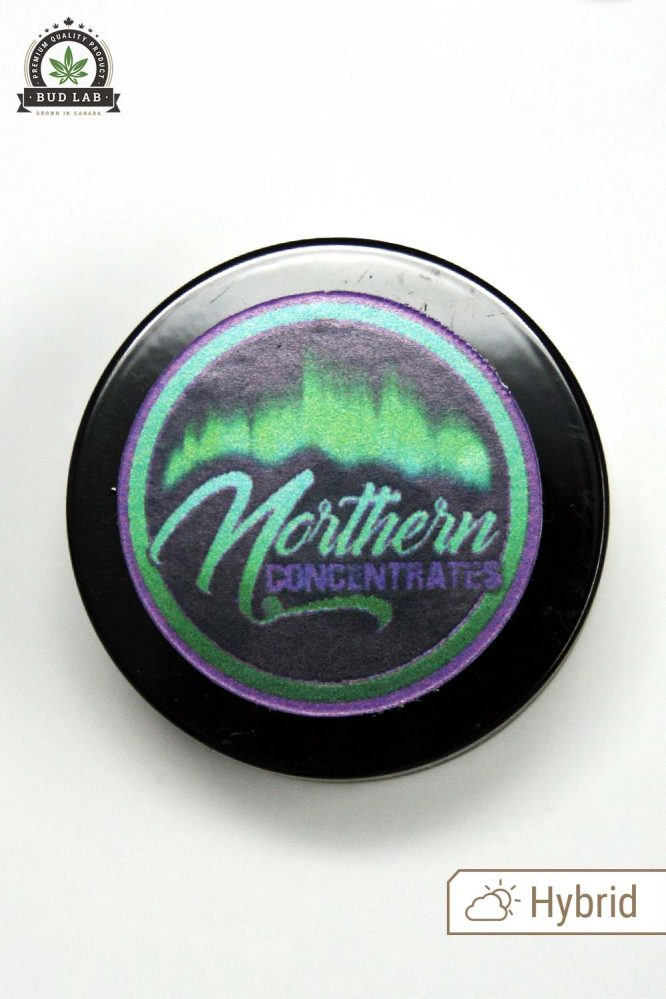 Bud Lab Northern Concentrates Pink Kush Rosin Product Lid Closed