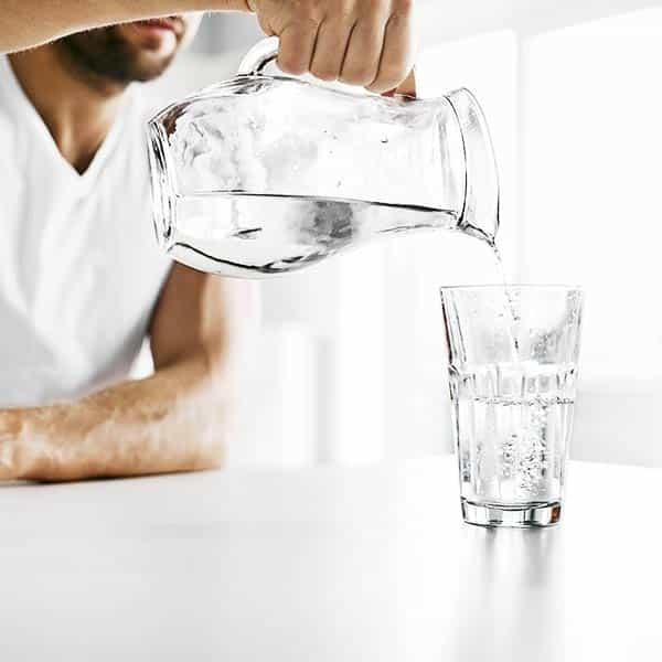 CBD Oil Block of a Jar of water