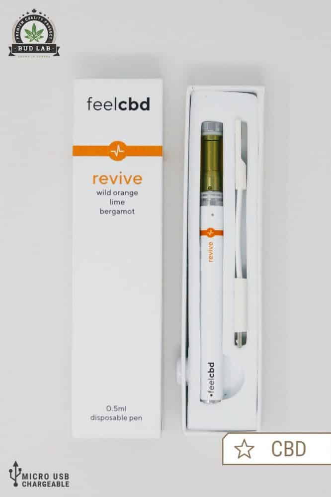 Feel CBD Revive, Micro USB Chargeable