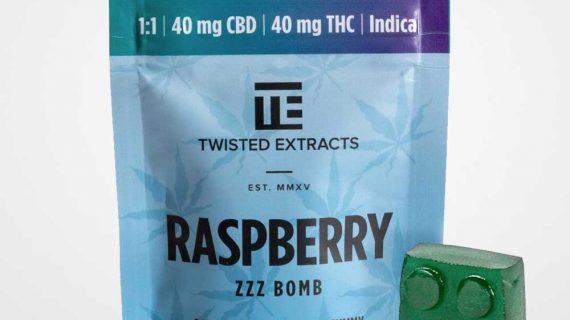 Bud Lab Raspberry ZZZ Bomb Indica