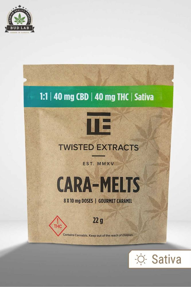 Bud Lab Twisted Extracts 1:1 Caramelts Package