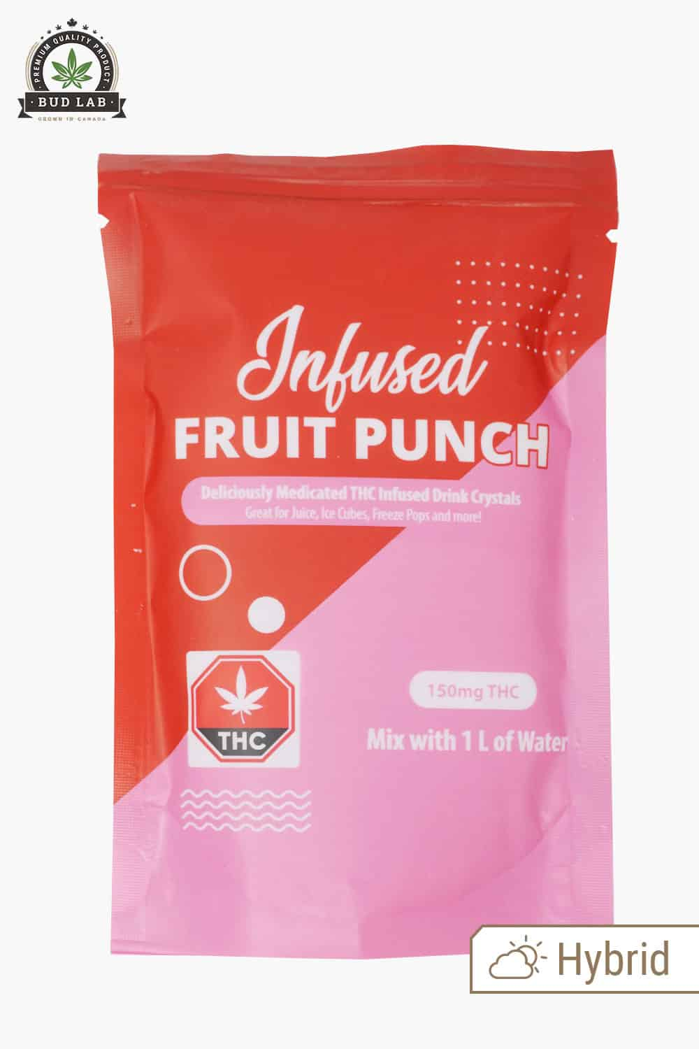 Infused Fruit Punch Drink Mix 150mg