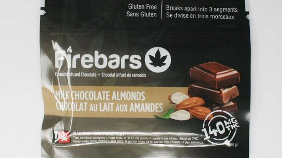 Firebars Milk Chocolate Almonds Hybrid