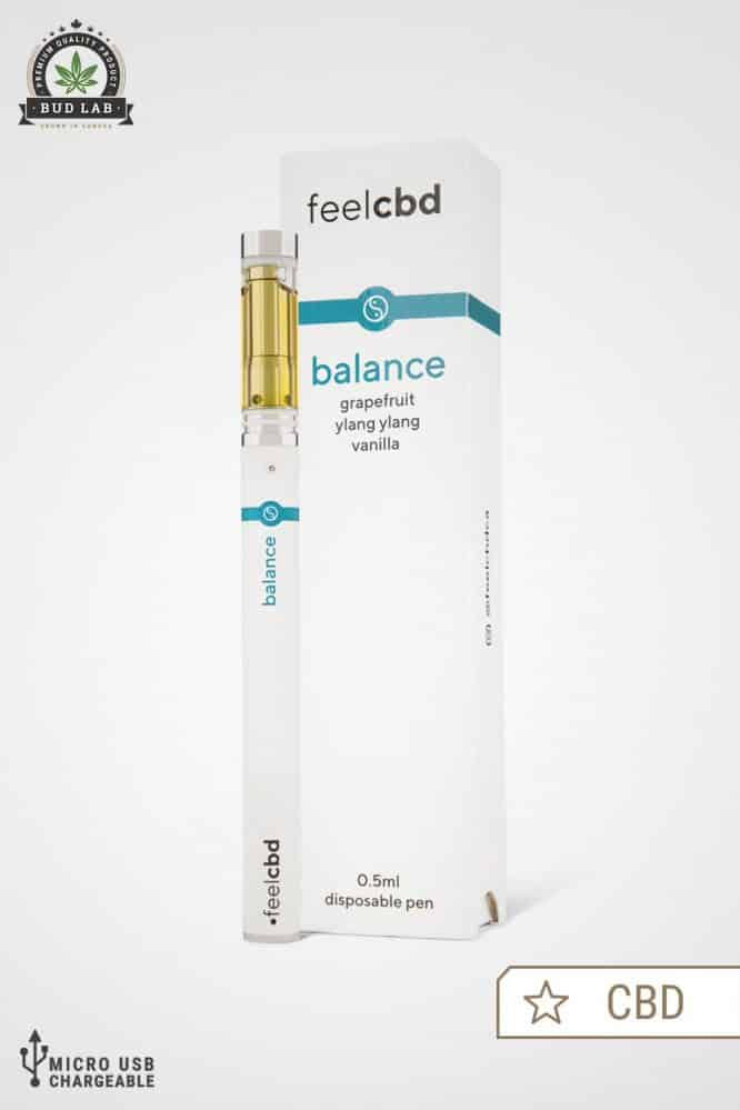 Feel CBD Balance Vape Pen Package