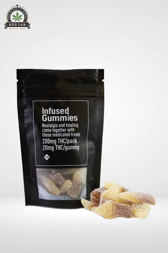 Infused Gummies Cola Bottles