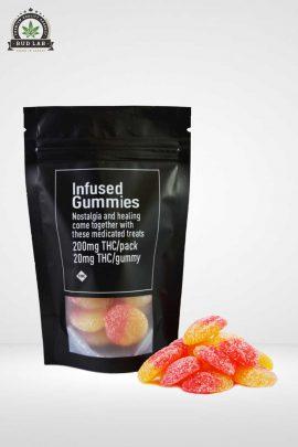 Infused Gummies Hybrid Full Spectrum Farms Product