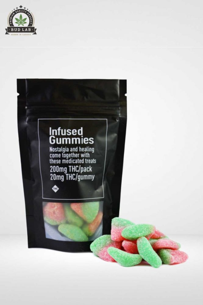 Infused Gummies Hybrid Melons Product
