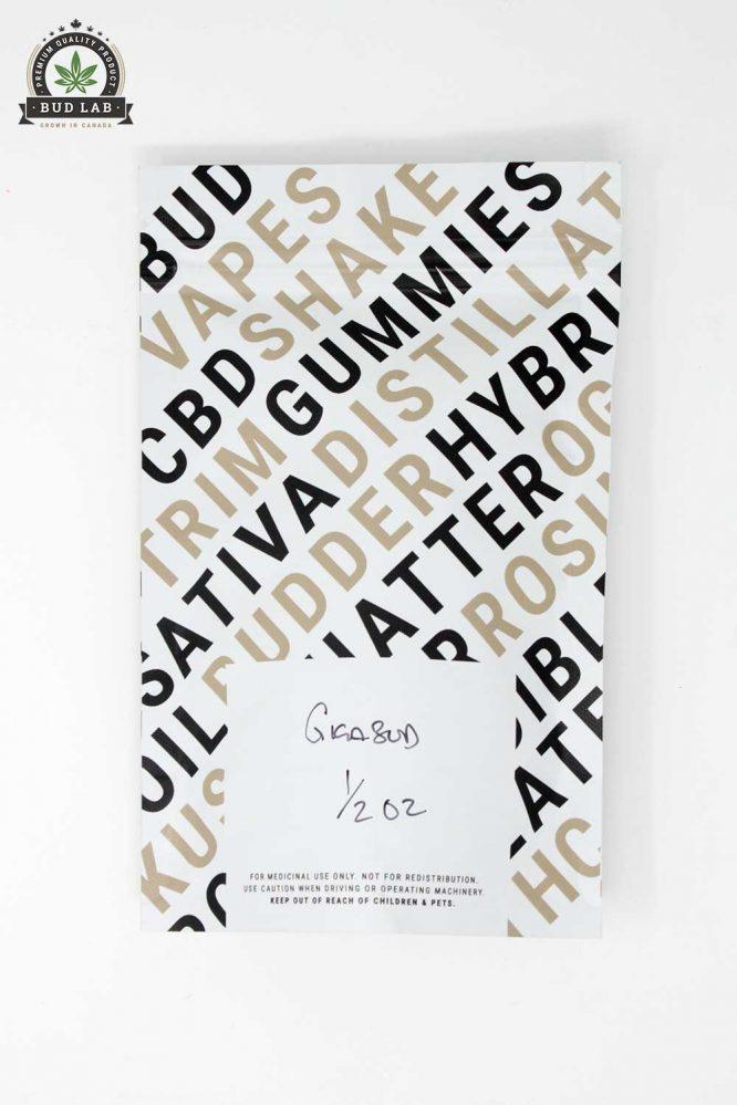 Bud Lab Giga Bud AA Back of Package