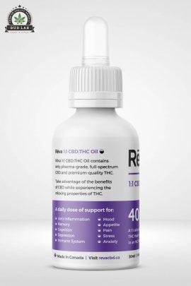 Reva 1:1 CBD THC oil hybrid 2