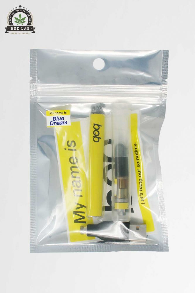 Bob Vape Blue Dream Kit in package