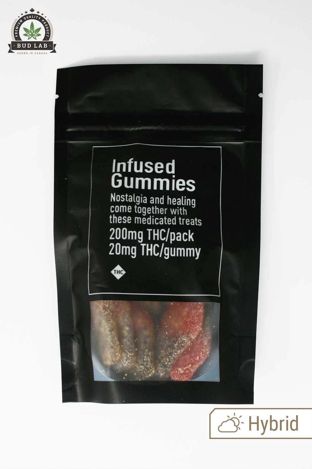 Infused Gummies, Cherry Cola Hybrid Edibles