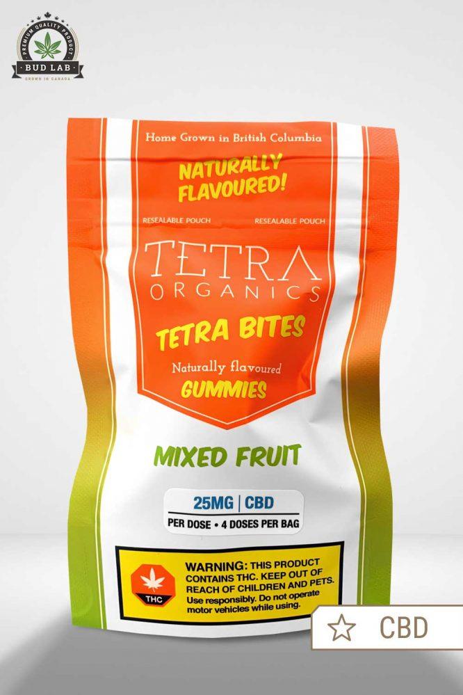 Tetra Organics Mixed Fruit CBD