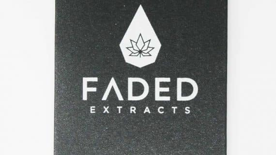 Jack Herer Shatter, Faded Extract Packaging