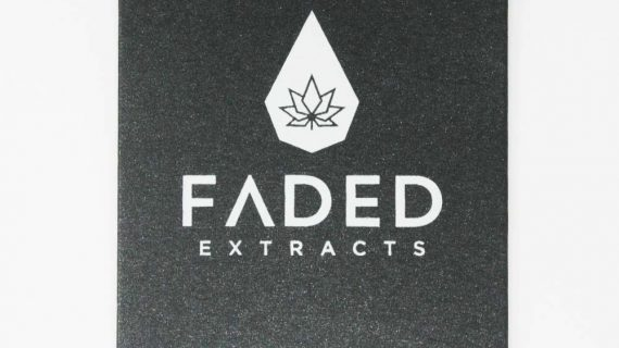 Lemon Haze Shatter, Faded Extracts Front