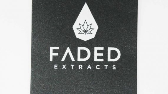 Tuna Kush Shatter, Faded Extracts Packaging