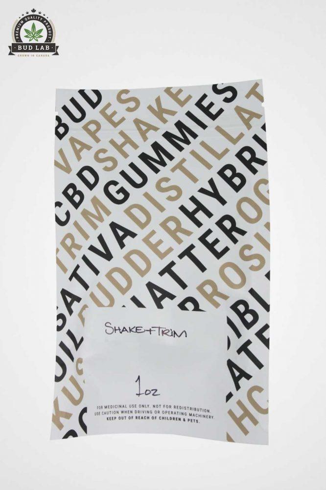 Krazy Glue Shake and Trim Bag, Back