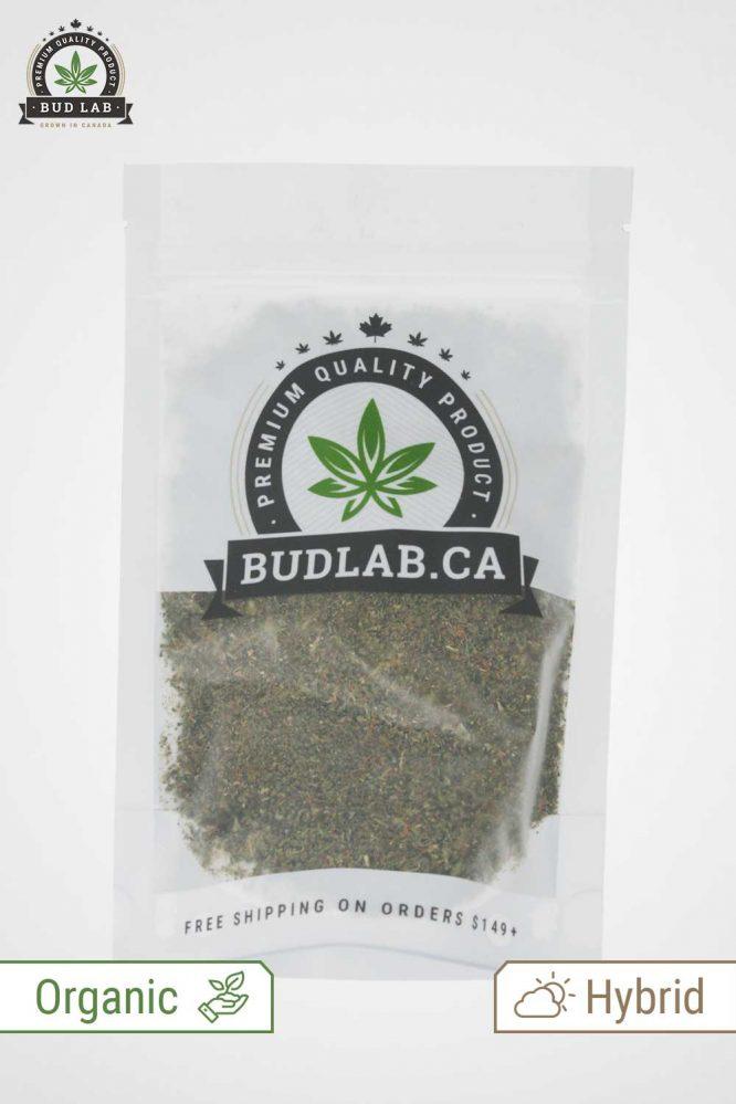 Bud Lab OG Kush Organic Shake and Trim, Profile