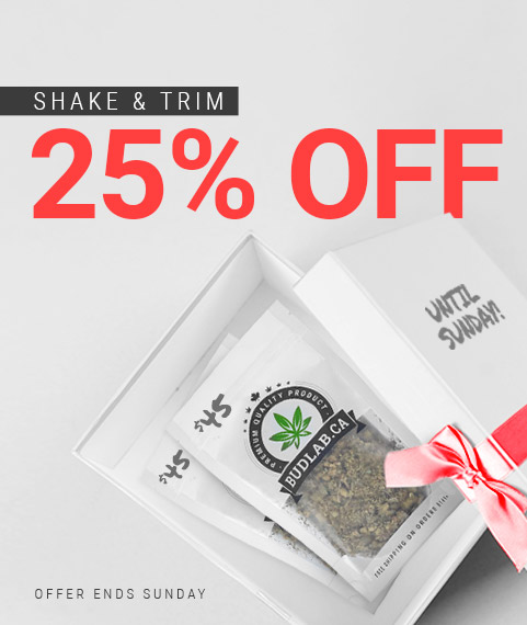 Bud Lab 25% Shake and Trim Sale, Mobile