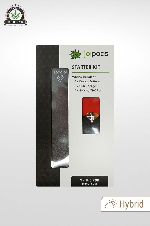 THC Joi Pods, Juul Pod Starter Kit, Strawberry Banana Flavoured