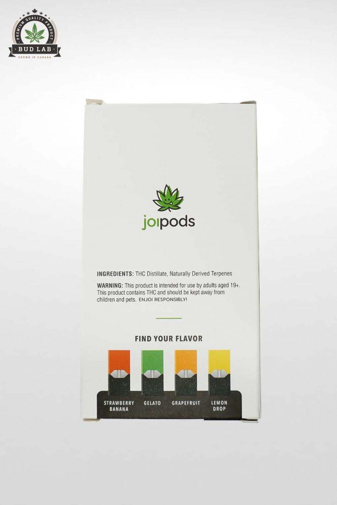 THC Joi Pods, Juul Pod Starter Kit, Strawberry Banana Flavoured 2