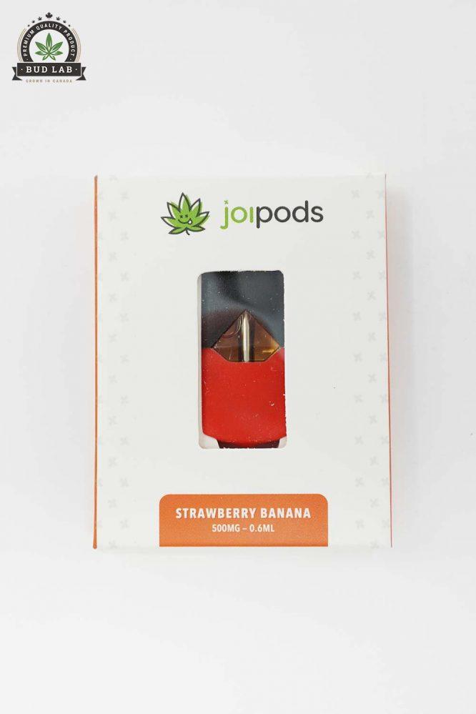 THC Joi Pods, Juul Pod Cartridge, Strawberry Banana Flavoured 2