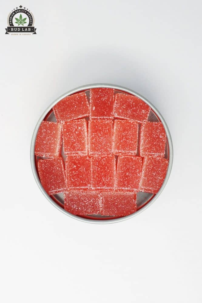 Boost Edibles Strawberry THC Gummies Hybrid 2