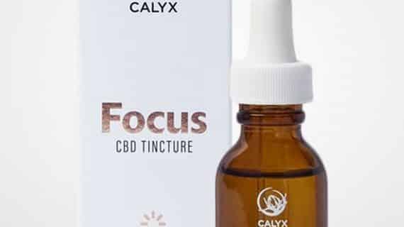 Calyx Focus CBD Tincture 500mg